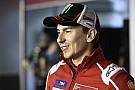 """Lorenzo: """"Firmé con Ducati por dos años y llevamos una carrera"""""""