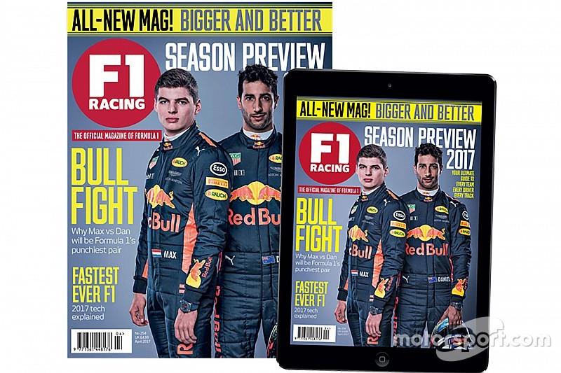Motorsport赛车新闻网络平台打造全新升级版《F1 Racing》杂志