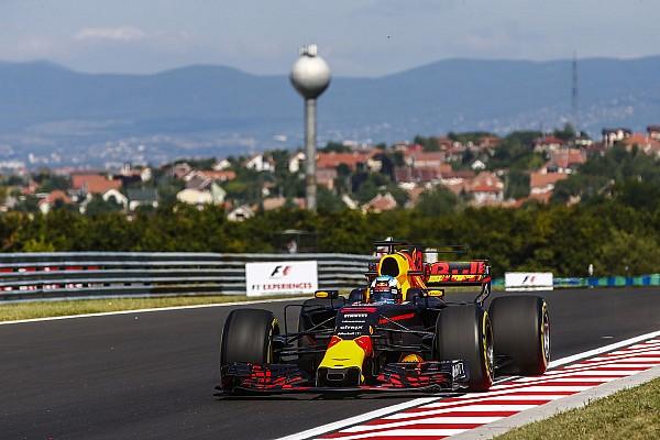 匈牙利大奖赛周五练习:里卡多统治全场,维特尔起伏