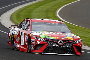 NASCAR Cup Race report Kyle Busch dominates first stage of the Brickyard 400