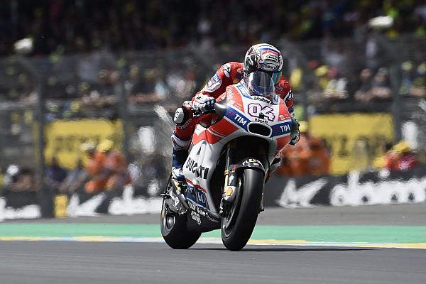 "MotoGP Dovizioso: ""Lorenzo pilotó divinamente en Jerez pero no me sorprende que sufriera en Le Mans"""