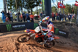 Mondiale Cross MxGP Qualifiche Jeffrey Herlings vince la sua prima qualifica in MXGP in Lettonia