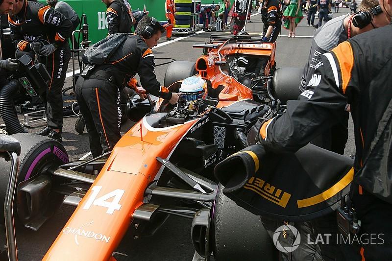 Galería técnica: la evolución del McLaren MCL32 durante 2017