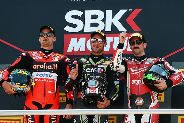 Misano WSBK: Rea eases to ninth victory of 2018