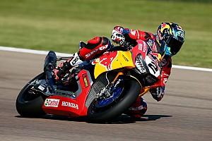 Superbike-WM Vorschau Honda in Donington: Leon Camier belastbarer als in Imola?