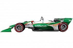 IndyCar Важливі новини В Juncos показали нову зелено-білу ліврею машини IndyCar