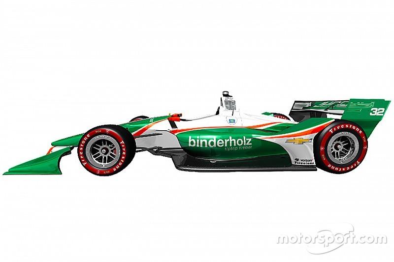 В Juncos показали нову зелено-білу ліврею машини IndyCar
