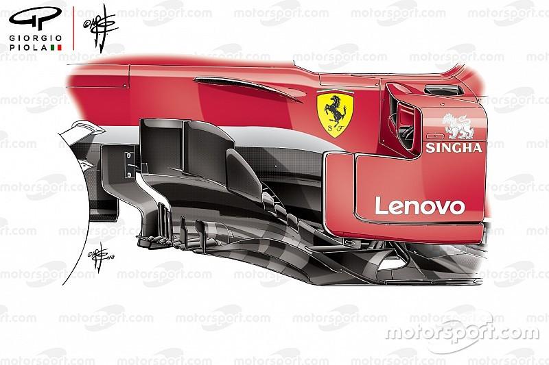 Les évolutions qui ont aidé Ferrari à signer la pole