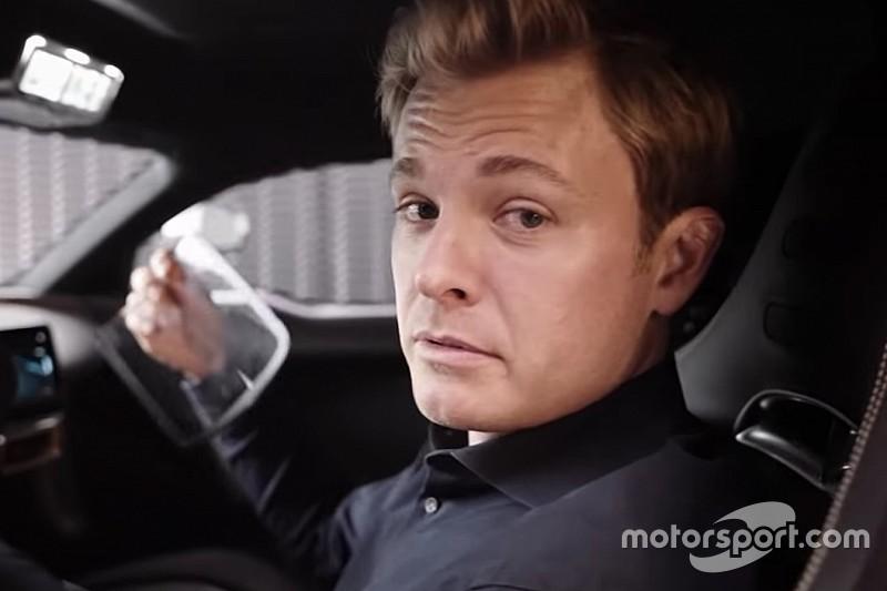 VIDEO: Rosberg conduce un Porsche 918 en Silverstone