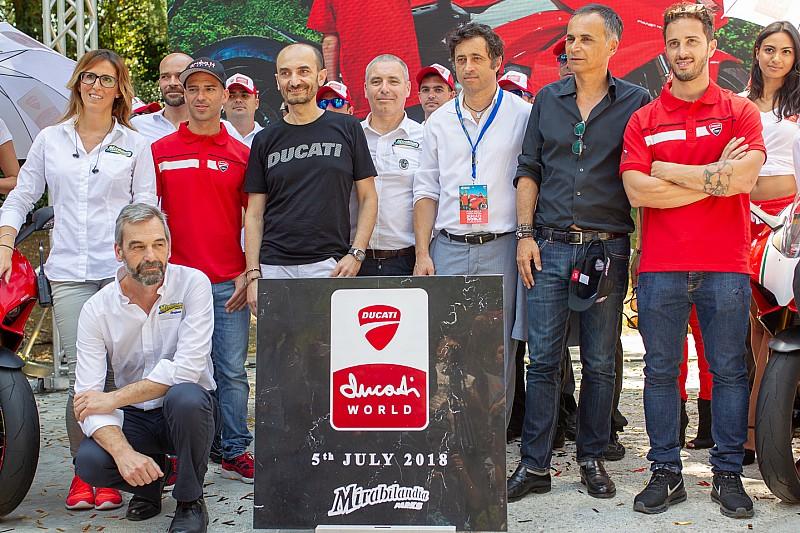 Ducati come Ferrari: nasce a Mirabilandia il parco tematico Rosso con la posa della prima pietra