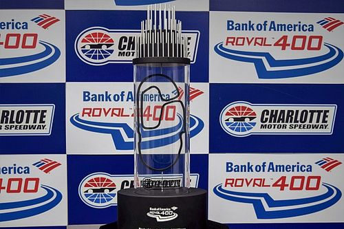 Inaugural Charlotte Roval Cup race gets its own unique trophy