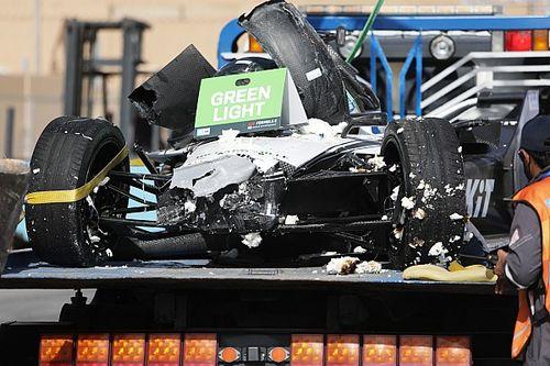 F-E: FIA pede que equipes revisem sistema de freios após acidente de Mortara em Diriyah