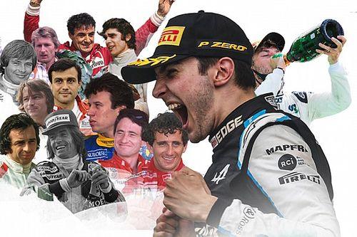 أوكون الفائز الفرنسي الـ 14 في الفورمولا واحد