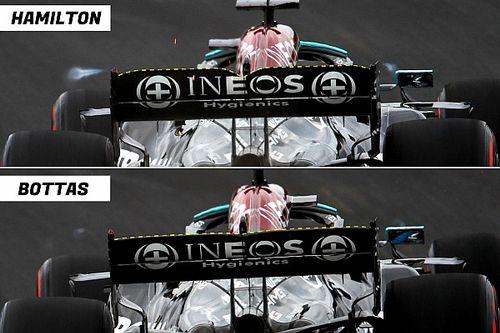 Cómo Hamilton logró 22 caballos de fuerza más allá del motor Mercedes