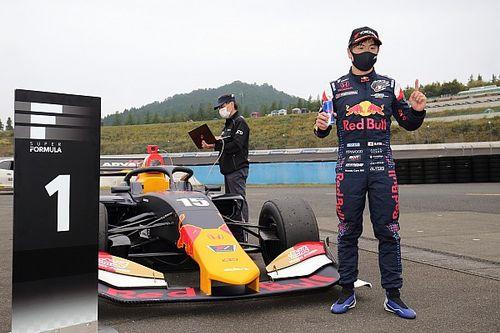 Motegi Super Formula: Tyre gamble propels Otsu to first pole