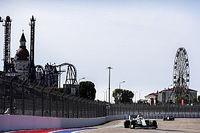 Las fotos del accidentado viernes del GP de Rusia de Fórmula 1