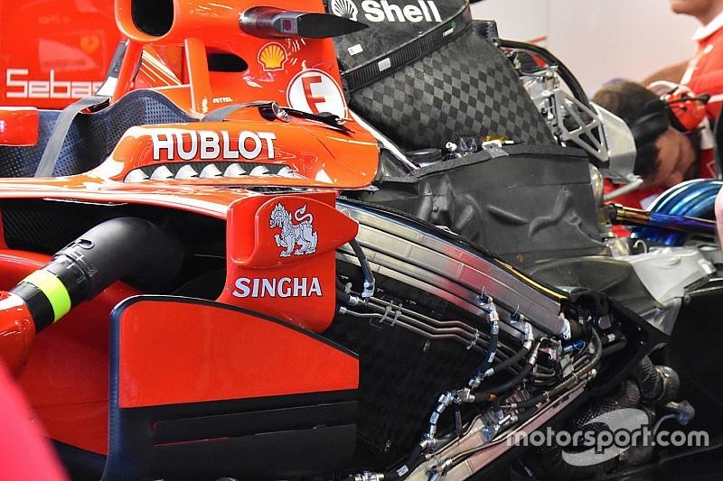 Ha Vettel már úgyis utolsó, a Ferrari bevet egy teljesen új erőforrást
