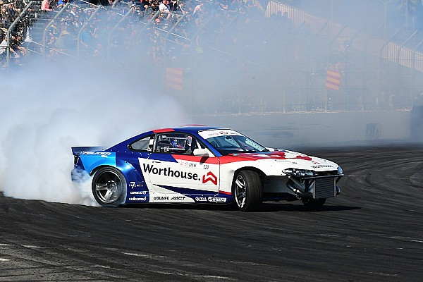 Formula Drift Race report James Deane continues his winning ways