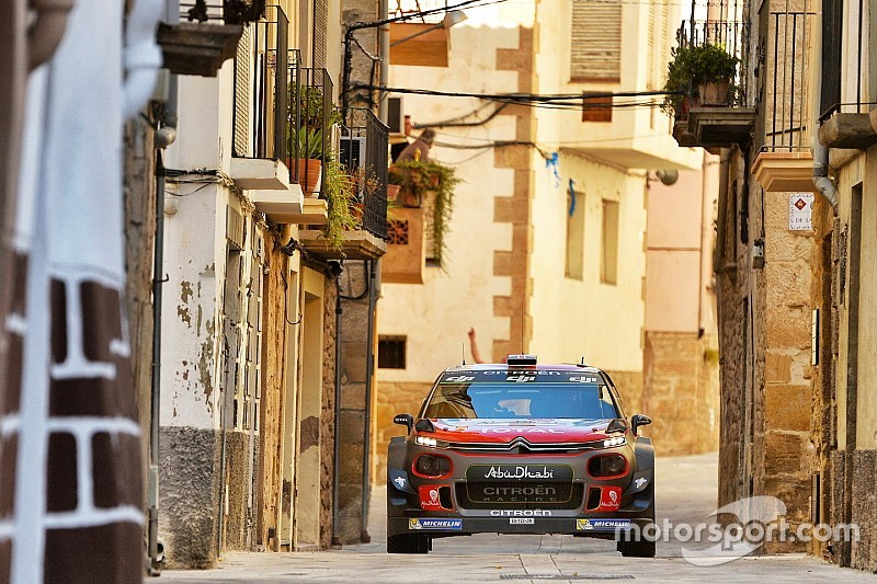 Katalonya WRC: Meeke liderliğini sürdürüyor, Hyundai ise sorun yaşıyor