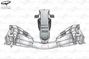 Tech analyse: De radicale nieuwe voorvleugel van Mercedes