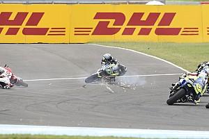 Moto2 Breaking news Gardner retak pergelangan kaki usai ditabrak Nakagami