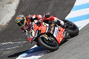 World Superbike Race report WorldSBK Amerika: Davies taklukkan duo Kawasaki di Corkscrew