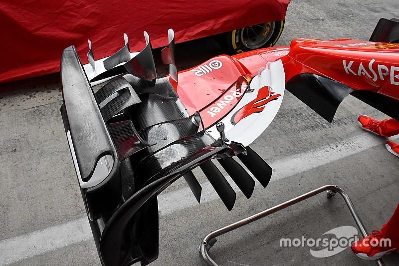 Les nouveautés techniques au Grand Prix d'Autriche