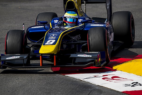 FIA F2 Race report F2 Monako: Rowland menangi Race 1, Gelael harus puas finis P13