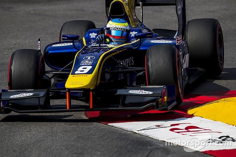 Роуленд выиграл гонку Ф2 в Монако, Маркелов второй