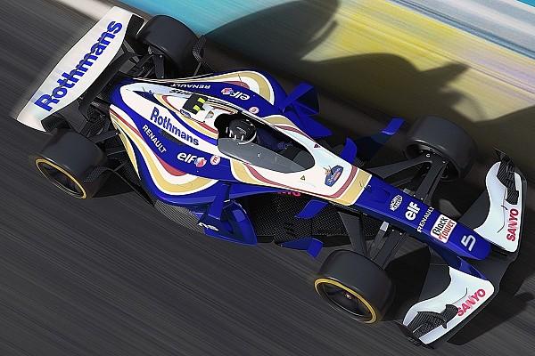 Formule 1 Diaporama Diaporama - Des F1 futuristes aux livrées rétro