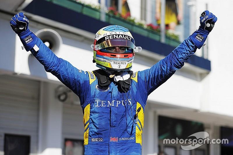 F2 Hongaria: Rowland menangi Feature Race, Gelael finis P9