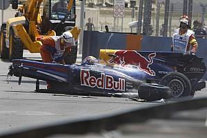 Формула 1 Топ список Ретро-відео: як машина Ф1 злітає у повітря догори дригом