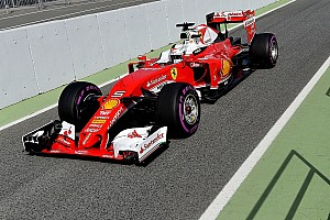 Formula 1 Testing report Barcelona F1 test: Vettel stays on top, more trouble for Renault