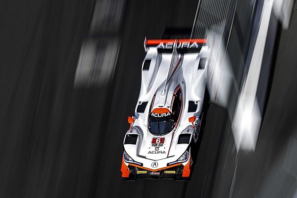 Montoya puso el Acura en la pole