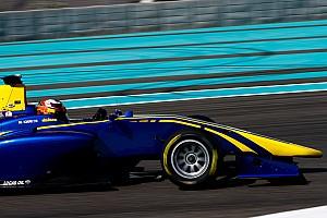 GP3 Testing report Kari tops opening day of Abu Dhabi GP3 testing