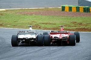 Formule 1 Toplijst In beeld: Montoya vs Schumacher in Brazilië