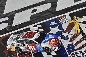 NASCAR Cup Отчет о гонке Кайл Буш одержал четвертую победу на этапе NASCAR в сезоне
