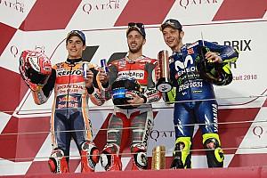 MotoGP Résumé de course Course - L'espoir pour Zarco, la victoire pour Dovizioso