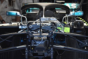 Mercedes: ecco il terzo elemento idraulico della sospensione anteriore