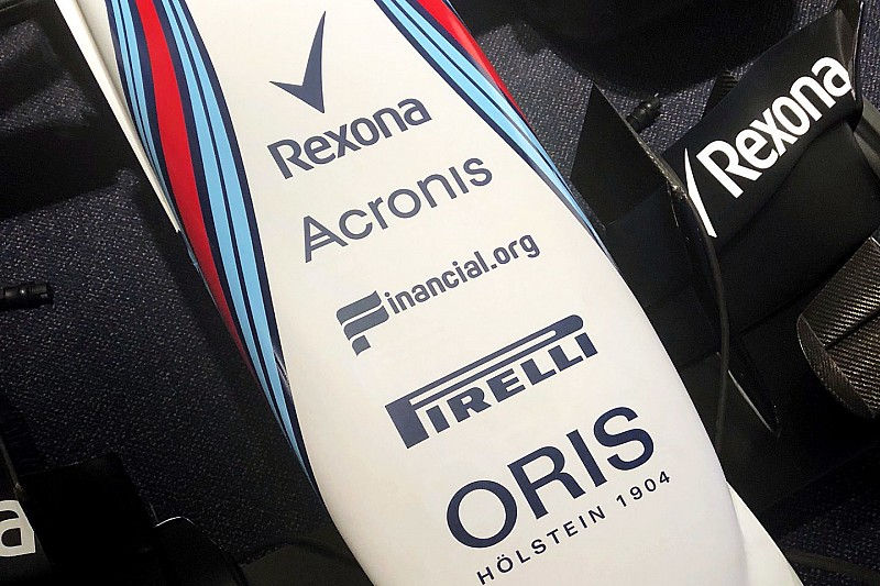 Williams conclut un accord de sponsoring avec Acronis