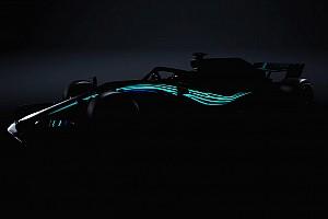 F1 速報ニュース メルセデス、新車W09のイメージを先行公開。21時過ぎにオンライン発表