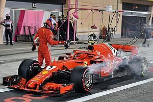 Fórmula 1 Noticias Ferrari explica el error que llevó al atropello de un mecánico en Bahrein