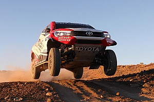 Dakar Interview Toyota: Early Dakar stages key to beating Peugeot
