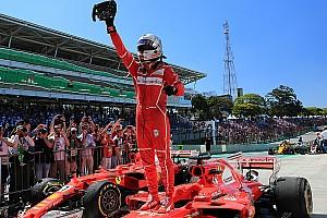 F1 Reporte de la carrera Vettel se lleva el triunfo en Brasil ante una remontada de Hamilton