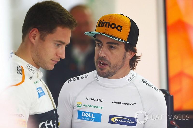 """Alonso: """"Vandoorne não precisa provar mais nada"""""""