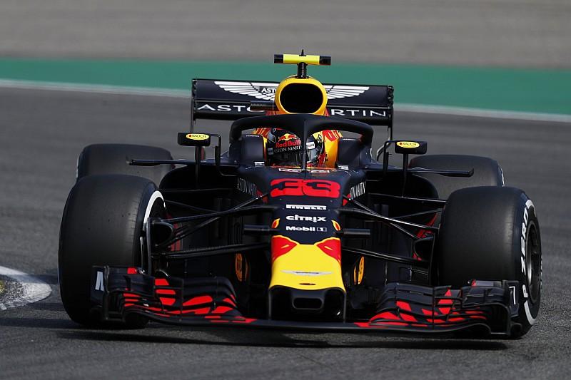 Almanya GP 2. antrenman: Verstappen, Hamilton'ın 0.026 saniye önünde lider!