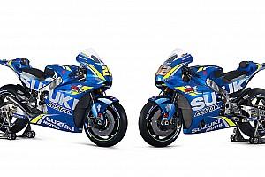 MotoGP Breaking news Suzuki's 2018 MotoGP bike unveiled