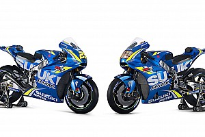 MotoGP Toplijst In beeld: de nieuwe Suzuki GSX-RR van Iannone en Rins