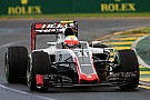 Haas underprepared after wet practice - Steiner