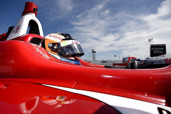 Rosenqvist controls Race 2 to claim debut weekend win
